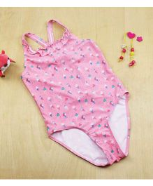 Epice Ice Cream Print Swimwear - Pink