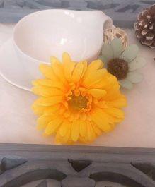 Treasure Trove Sunflower Alligator Clip - Yellow