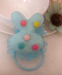 Treasure Trove Rabbit Ear Pony Tail Holder - Blue
