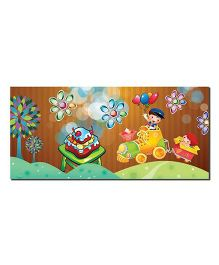 Ultra Happy Birthday Envelopes With Special 3D Effects Pack of 5 - Multicolor