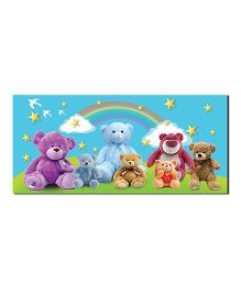 Ultra Charming Teddies Design Envelopes With Special 3D Effects Pack of 5 - Multicolor