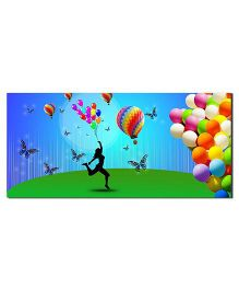 Ultra Colorful Balloons Design Envelopes With Special 3D Effects Pack of 5 - Multicolor