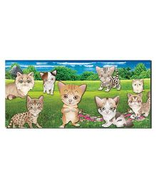 Ultra Cat Design Envelopes With Special 3D Effects Pack of 5 - Multicolor