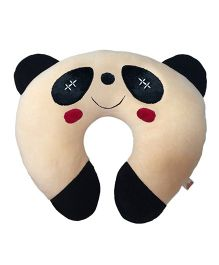 Ultra Soft Panda Baby Neck Cushion Pillow - Black And White
