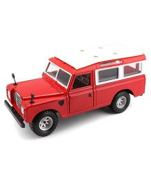 Bburago Die Cast Land Rover Toy Car - Red