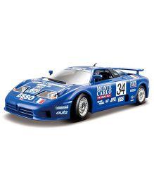 Bburago Die Cast Toy Car Buggatti EB 110 - Blue