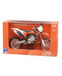 New-ray Die Cast Toy Bike KTM 350 SX-F 2011 - Orange