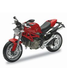 New-ray Die Cast Toy Bike Ducati Monster - Red