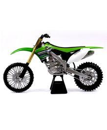 New-ray Die Cast Toy Bike Kawasaki KX 450F - Green