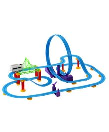 Saffire Big Track Racer J1 Train Set - Multicolor