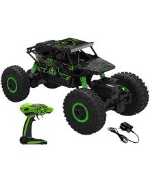 Saffire Remote Controlled Rock Crawler Monster Truck - Green