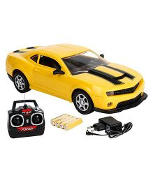 Saffire Remote Control Spider Camaro Racing Car - Yellow