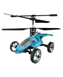 Saffire Mars Strike Transformer Remote Control Helicopter Cum Car - Blue
