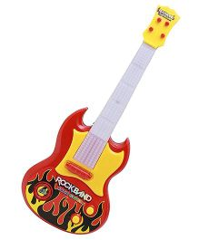 Saffire Rockband Musical Guitar - Multi Color