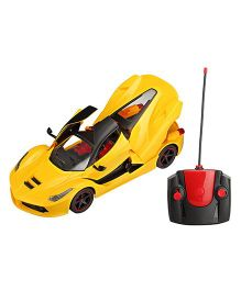 Saffire Remote Controlled Super Car With Opening Doors- Yellow
