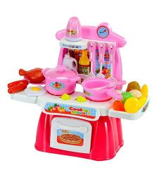 Webby Cook Happy Kitchen Play Set - Multi Color