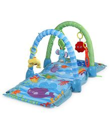 Saffire Ocean Wonders Kick and Crawl Play Gym - Multi Color