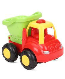 ToyFactory Friction Farmer Truck Toy - Red Green