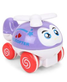 ToyFactory Helicopter Toy - Purple Red