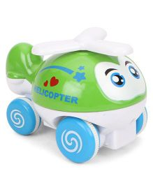 ToyFactory Helicopter Toy - Green Blue