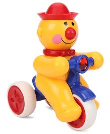 ToyFactory Push And Go Joker Snow Man Toy - Yellow Red