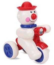 ToyFactory Push And Go Joker Snow Man Toy - White Red