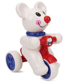 ToyFactory Mouse Snow Man Toy - White REd