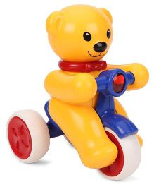 ToyFactory Push And Go Bear Snow Man Toy - Yellow Red