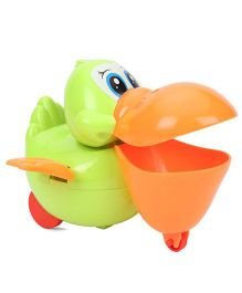 ToyFactory Wind Up Duck Toy - Orange Green