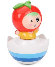 Toyfactory Kids Apple Roly Poly - Red Blue