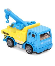 ToyFactory Pull Back Construction Trucks - Yellow Blue