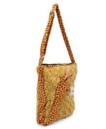 Tickles Giraffe School Sling Bag Brown - 12 inches