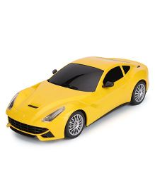 ToyFactory Rechargeable Remote Control Car - Yellow