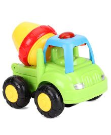 ToyFactory Friction Farmer Truck Toy - Green Yellow