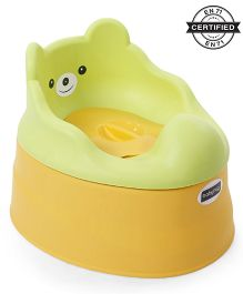 Babyhug Teddy Buddy Potty Chair - Green