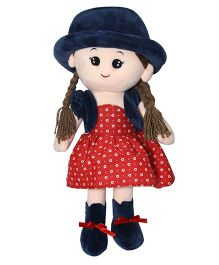 Soft Buddies Candy Doll With Cap Red - 40 cm