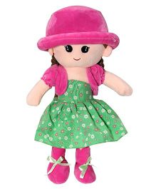 Soft Buddies Candy Doll With Cap Green - 40 cm