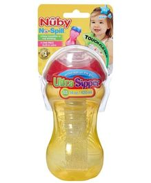 Nuby No Spill Ultra Sipper Cup 420 ml Yellow