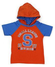 Babyhug Boys Tops & Tees Half sleeve Tee 12-18m ORANGE