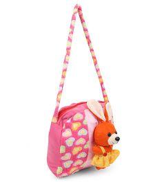 Tickles Funny Rabbit Sling Bag - Pink