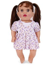 Speedage Baby Doll White Purple - 27.9 cm