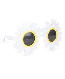 B Vishal Eye Glass Flower Shape - White