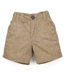 Spark Shorts Printed - Fawn