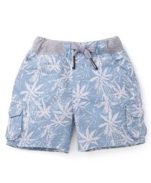 Spark Shorts With Drawstrings - Sky Blue