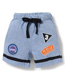 Spark Shorts With Drawstrings - Blue