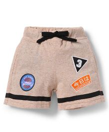 Spark Shorts With Drawstrings - Peach