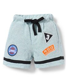 Spark Shorts With Drawstrings - Mint