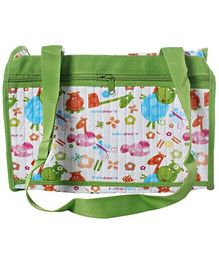 Morisons Baby Dreams - Baby Diaper Bag Green