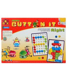 Toysbox Junior Button It Right  - Multi Color