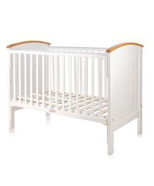 BabyCenter India Howard 4 in 1 Cot - White